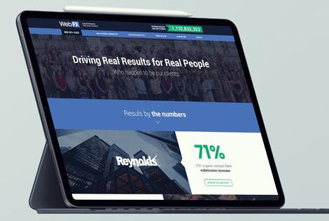 WebFX Redesings